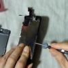 液晶が壊れたiPhone。液晶パネルを自分で交換